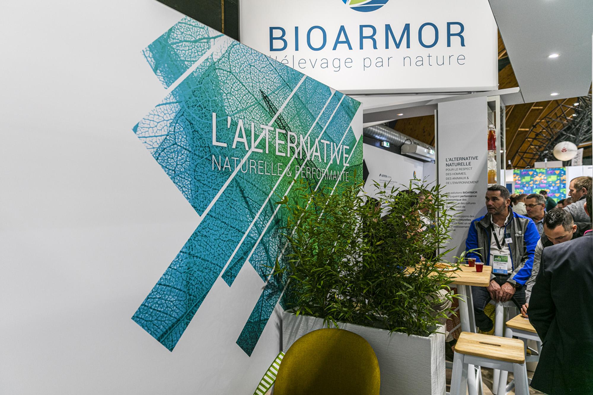Habillage stand BioArmor