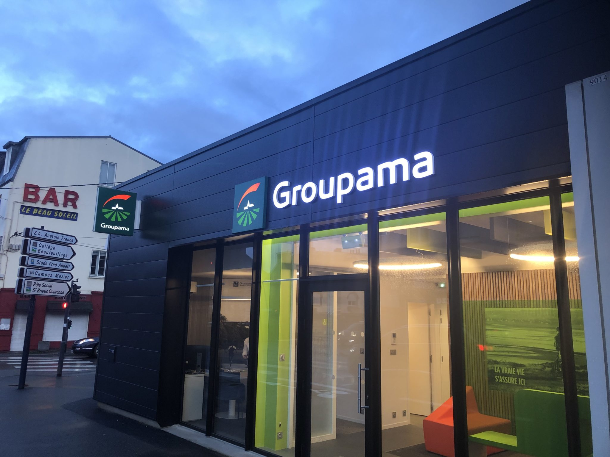 Groupama - St Brieuc